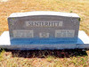 SENTERFITT, RAYMOND RIEVES AND DONELLA MARY (SMITH)<br /> Harmony Ridge Cemetery, San Saba,Texas