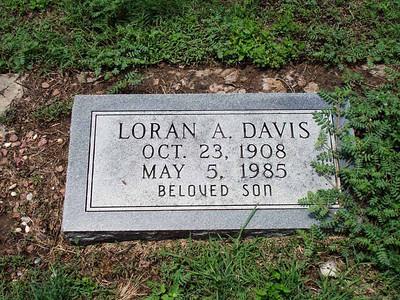 DAVIS, LORAN A San Saba City Cemetery, San Saba, Texas