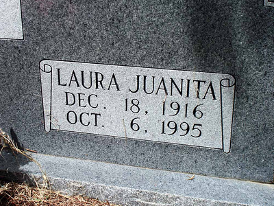 HARDY, LAURA JUANITA (SMITH) Harris Cemetery, San Saba, Texas