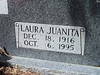 HARDY, LAURA JUANITA (SMITH)<br /> Harris Cemetery, San Saba, Texas