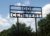 ODD FELLOWS CEMETERY<br /> 1405 Conway Street<br /> Gonzales, Texas<br /> <br /> Located at 1405 Conway Street, Gonzales, Texas. There is a front entrance on Water Street (Hwy 183).