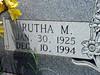 SMITH, RUTHA MAUDE (RANKIN)<br /> Harmony Ridge Cemetery, San Saba, Texas