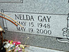SMITH, NELDA GAY (HIGHTOWER)<br /> Harmony Ridge Cemetery, San Saba, Texas