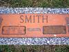 SMITH, ALFRED JOSEPH and THELMA JO (JOHNSON)<br /> Palms Memorial Gardens, Portland, Texas