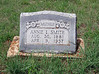 """SMITH, ANNA LAURA """"ANNIE"""" (ROBINSON)<br /> Harmony Ridge Cemetery, San Saba, Texas"""