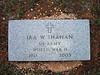 SHAHAN, IRA W - SERVICE STONE<br /> Harris Cemetery, San Saba, Texas
