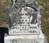 YOUNG, INFANT DAUGHTER<br /> Fairy Cemetery, Fairy, Texas<br /> <br /> [daughter of Council Smith and Samuel Young]