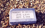 McVEA, ROBERT WILLIAM Jun 4, 1848 - Sep 3, 1919 Waelder Masonic Cemetery, Waelder, Texas