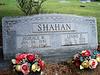 SHAHAN, HORACE W and LINNIE D<br /> Harris Cemetery, San Saba, Texas
