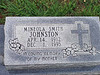 "JOHNSTON, MINEOLA ""AUNTIE"" (SMITH)<br /> Harmony Ridge Cemetery, San Saba, Texas"