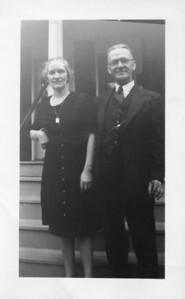Nellie Gallagher with Joe Ryan