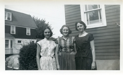 Mary Therese (left), Eileen (center), and Katherine Moran (right).