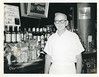 Joseph Moran working at his brother John's bar