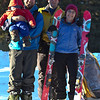 <b>4 Feb 2012</b> Group shot! Steve holding Finn, Joel, Kristy's ski, Kristy, Kristy's other ski