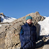 <b>5 Feb 2012</b> On the summit of Ha Ling Peak, the first time for 2012