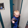 <b>March 2012</b> Playing in the Norquay ski lockers