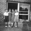 Leona, Barbara, Naomi and Donna <br /> (The trio, and Mrs. Naome Parker was the teacher)<br /> April 25, 1942