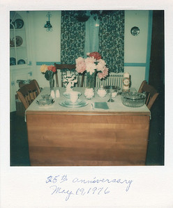 Our 25th anniversary celebration--1976
