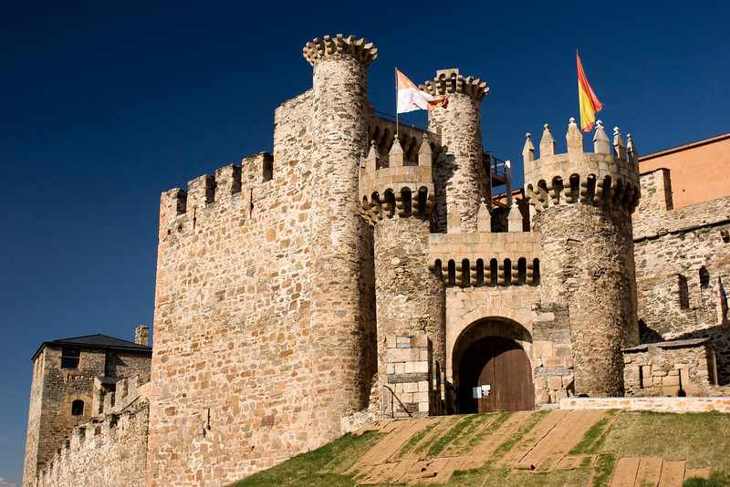Spanish Castle, Castilla y Leon, Spain