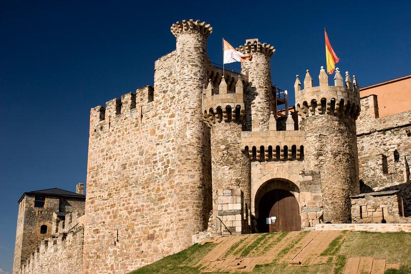 Spanish Castle, Castilla y Leon, Spain