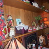 Every room was festively decorated.