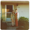 1974 - Mary and I in front of Albany parsonage