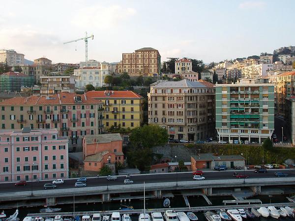Mort and Judy's trip through Genoa:  Nov, 2006