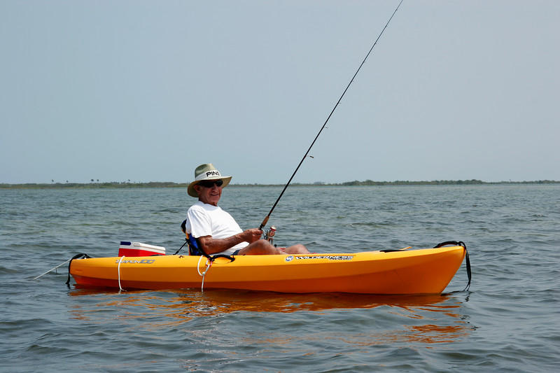 Dad (Gramp, Pop), our 84 year old kayaker!