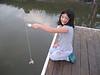 Crabbing at the dock, Seabrook, April 2008
