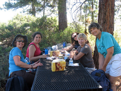 Mothers/Daughters at Tahoe 2010