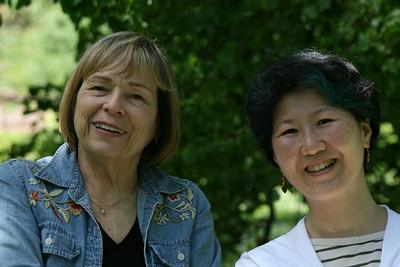 Mom and Keiko.