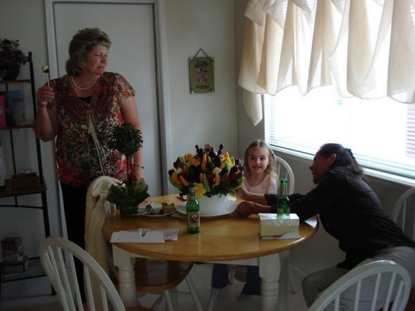 Mia and grandma's