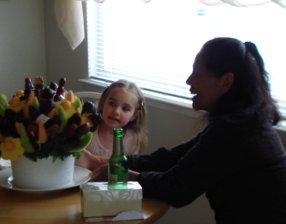 Mia and grandma Barbara