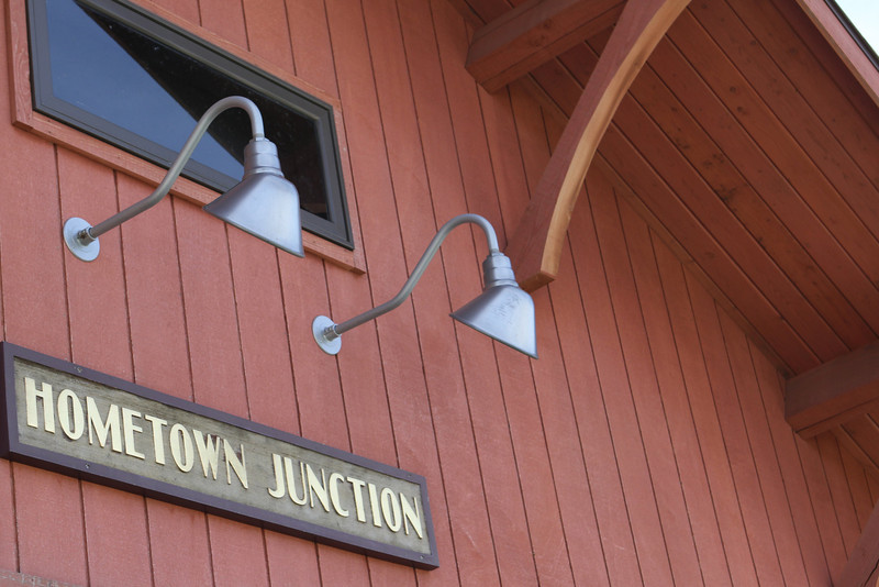 "The Hometown Junction is the launching spot for the ""Rail to Trails"" hiking/biking path."
