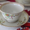 Fine china tea cup from Kent's Mother, Marie Grace Eikenberry-Sweitzer was used as part of the Ruth Grace Mother's Day tea.