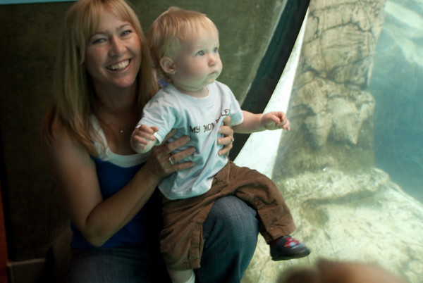 Mothers Day at the Aquarium