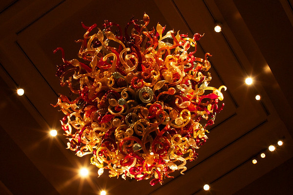 Chandelier at the Lac Leamy Hilton