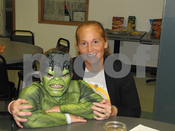 Landon 'The Hulk' and Jodie Grandors at the 'Night with My Hero' held at Citizens Central.