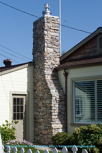 Capitola - an interesting chimney on Crystal.