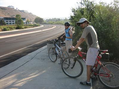 Mountain Biking w/ The Dans - 2008, 9/6