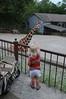 Leah at Zoo