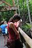 Sarah and Leah at Amazonia exhibit at Mesker Park Zoo