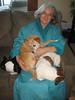 Linda lovin' on the pups!