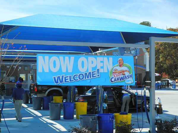 Mr. Clean Car Wash Opening 11-9-12