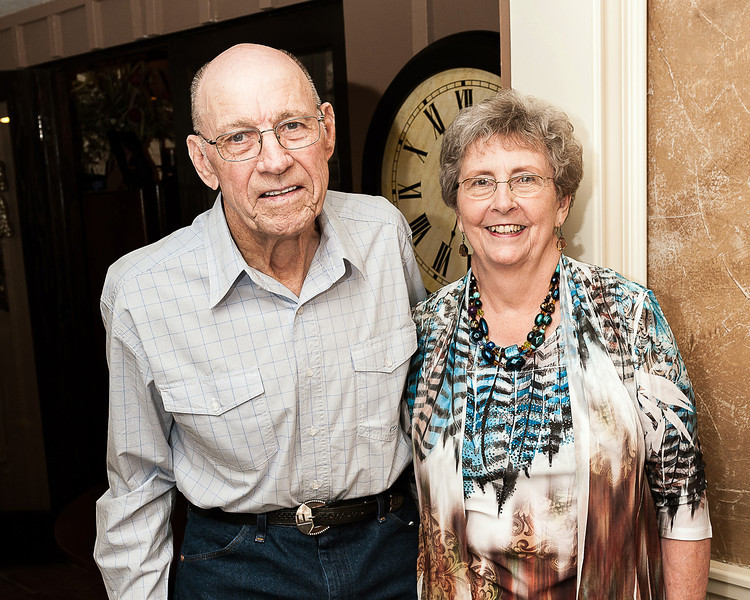 Mr. and Mrs Lewis Lutrick, 60th Wedding Aniversary, 6-2-2012