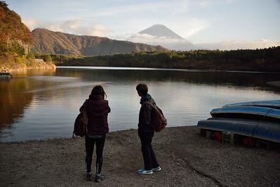Mt. Fuji with Raymon and Chloe