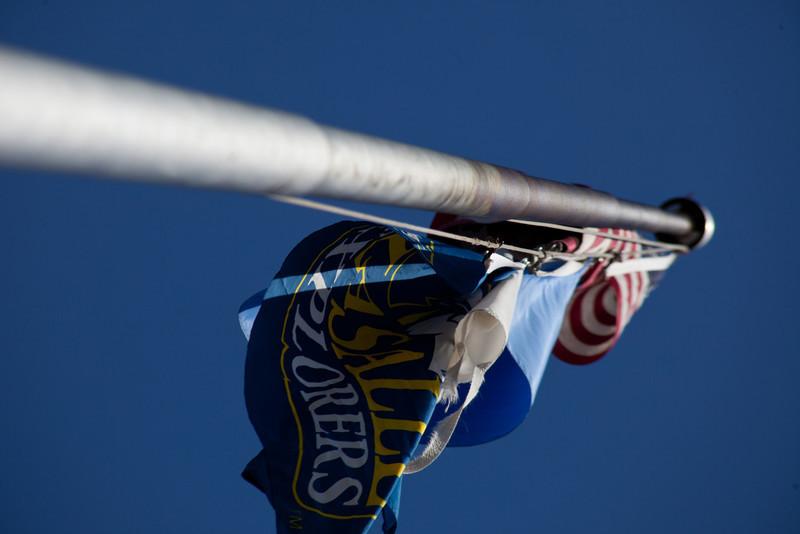 The Fairmount flagpole.