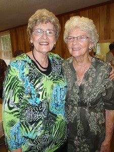 Mom and Louise Harkey