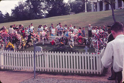 John Kennedy's grave
