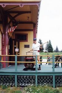 Bert at Crawford Station